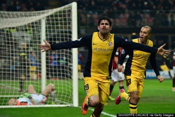 AC Milan 0-1 Atlético Madrid: Diego Costa Scores Winner