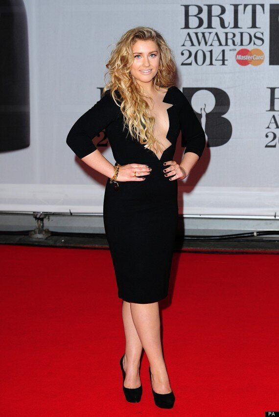 BRITS 2014: 'X Factor' Star Ella Henderson Is Almost Unrecognisable On The Red Carpet
