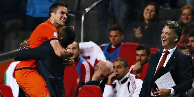 Van Persie is Holland's all-time record