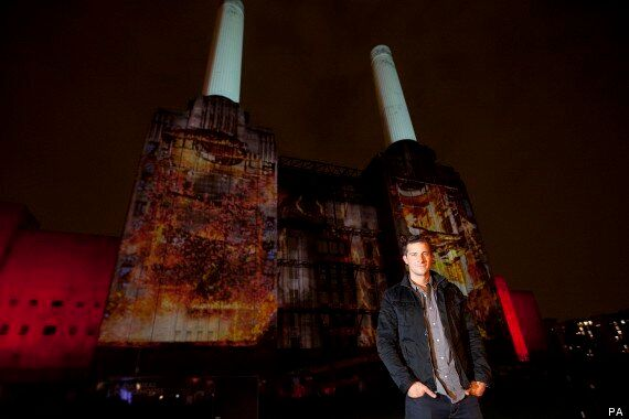 Bear Grylls Battersea Power Station Stunt Sparks False Fire Alarm