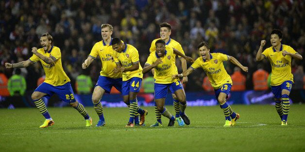 Arsenal Beat West Brom On Penalties In Capital One Cup