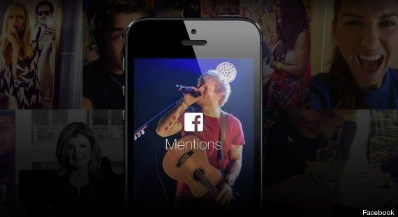 Facebook 'Mentions' Is A New App For Celebs