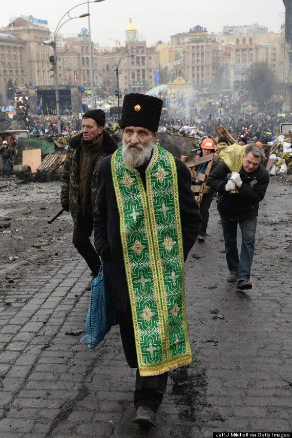 Ukraine Euromaidan Protests: The Stories Behind Astonishing Pictures Of Deadly