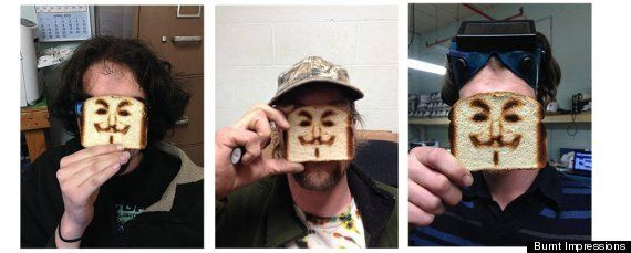 'Selfie' Toaster Is The Ultimate Expression Of