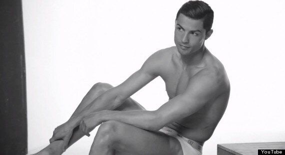 Cristiano Ronaldo Poses Half-Naked In Underwear To Launch CR7 Range (VIDEO,
