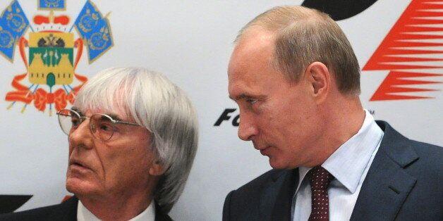 Bernie Ecclestone, F1 Boss, 'Agrees' With Vladimir Putin's Gay Rights