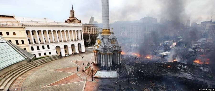 Incredible Before And After Pictures Of Kiev's Devastated Independence