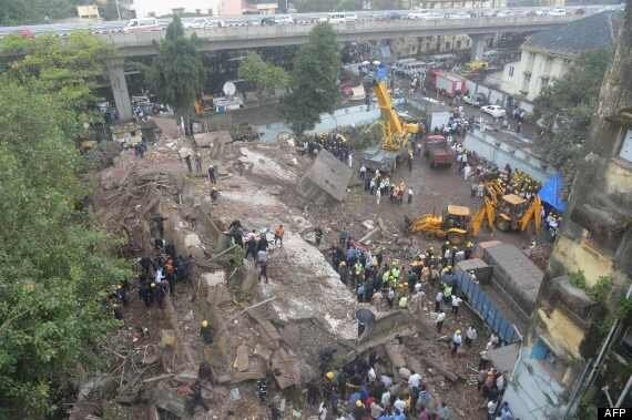 Mumbai Building Collapse: Baby Rescued From