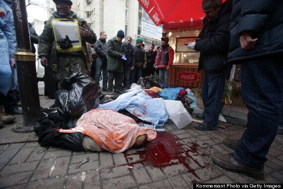 Ukraine Crisis: 'Peace Deal' Announced By President Yanukovych (GRAPHIC
