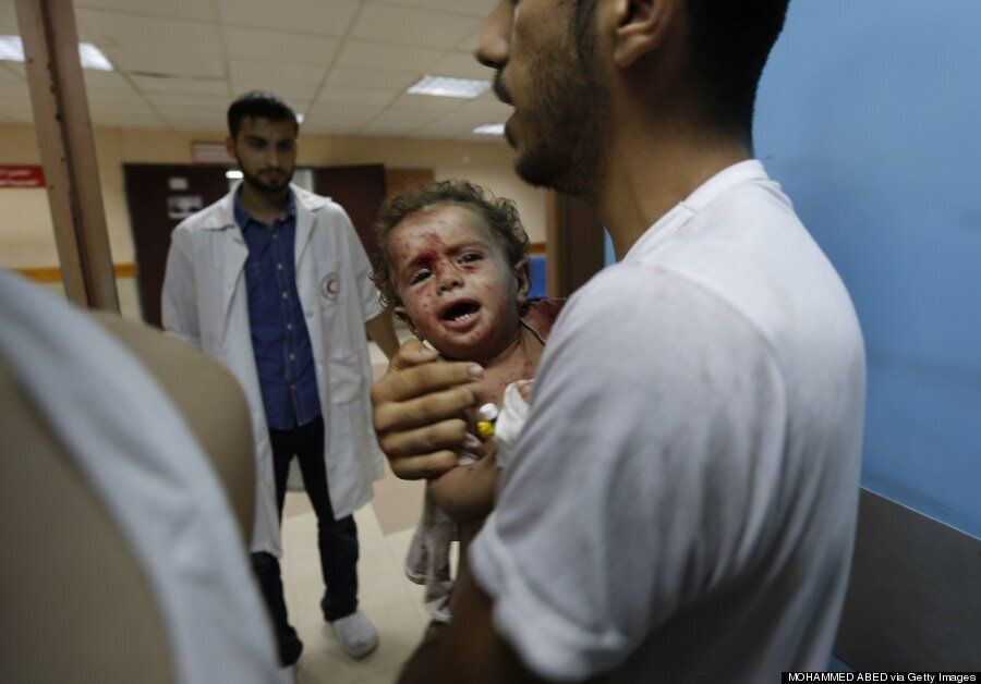 Israel Gaza Conflict: The Innocent Children Paying The Terrible Price Of War (GRAPHIC