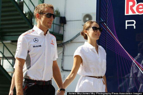Jenson Button Engaged To Jessica Michibata