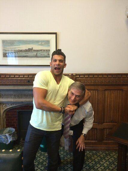 Royal Ramblings: When Robbie E Met The