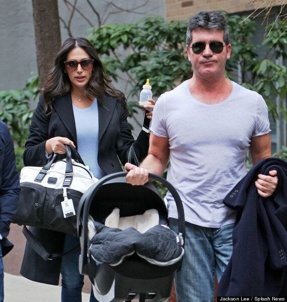 Simon Cowell's Baby Eric Has His First Day Out In New York