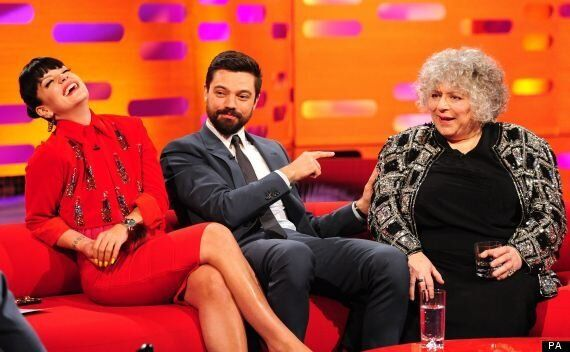 Miriam Margolyes Has No Idea Who Dominic Cooper Is During 'The Graham Norton Show'