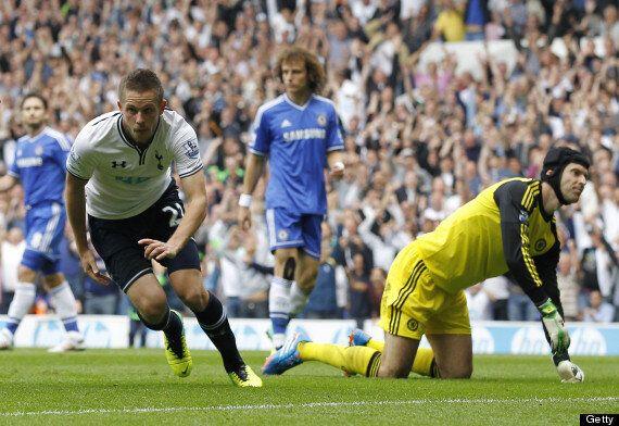 Tottenham 1-1 Chelsea: Fernando Torres Sent Off In
