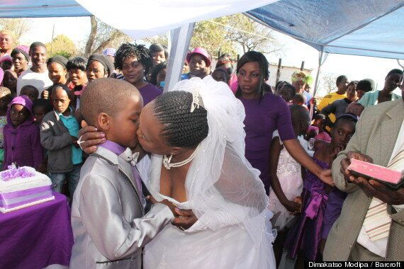 Boy, 9, Renews Wedding Vows With Mother-Of-Five, 62