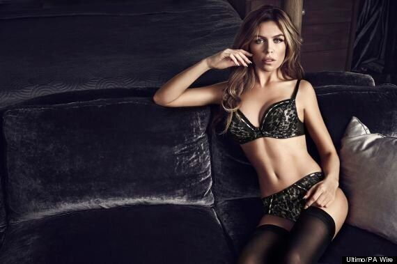 Abbey Clancy Brings Sex Appeal With Sexy Stockings And Lace Underwear In Final Ultimo Photo Shoot