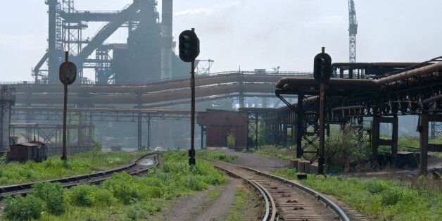 The couple were reportedly struck by a train in Zaporozhye,