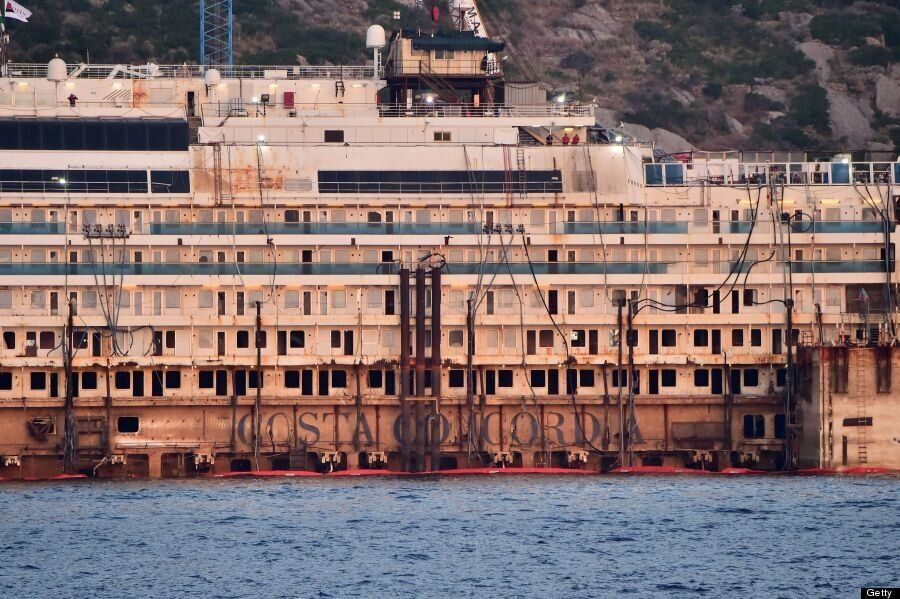 Costa Concordia: Vessel To Be Towed From Giglio In Final Step Of Salvage Operation