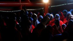 Quatre migrants d'origine subsaharienne ont disparu en mer