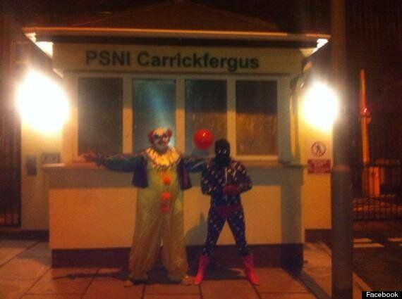 Carrickfergus 'Killer Clown' Turns Himself Into Police