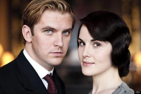 Downton Abbey's Michelle Dockery Happy To Lose Husband Matthew Crawley With Dan Stevens'