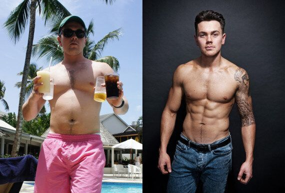 Dancing On Ice Star Ray Quinn Shows Off His Amazing Body