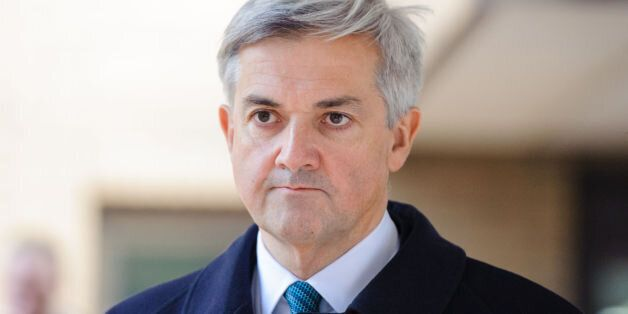 Former Energy Secretary Chris Huhne leaves Southwark Crown Court, in central London, after Mr Huhne pleaded...
