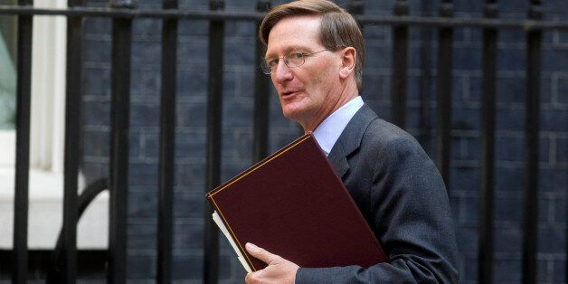Attorney General Dominic Grieve QC arrives at 10 Downing Street, central