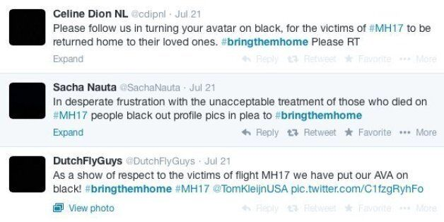 Malaysia Airlines Flight MH17: Thousands In #BringThemHome Twitter Blackout