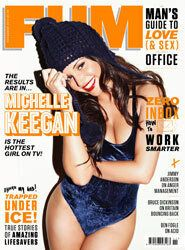 Michelle Keegan Strips To Celebrate Being Voted FHM's Hottest Woman On TV