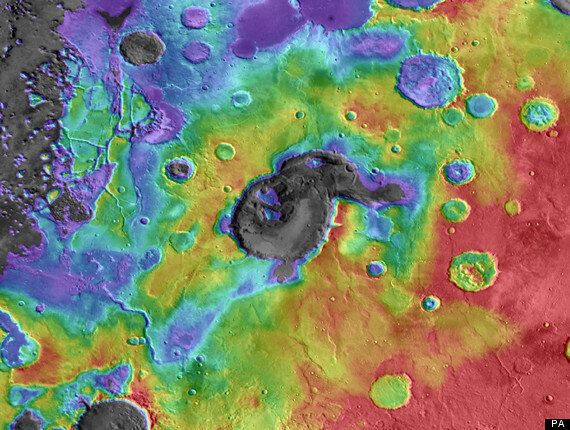 Ancient Mars Was Rocked By 'Titanic Super-Volcano'
