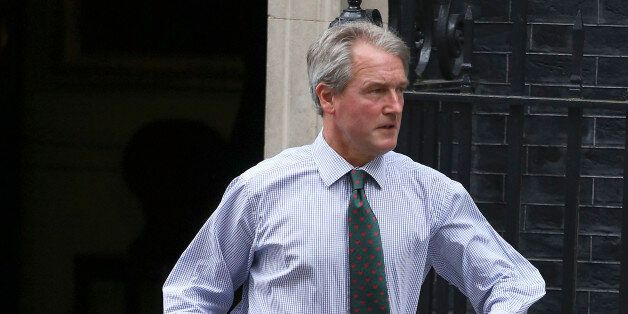 Secretary of State for Environment, Food and Rural Affairs, Owen Paterson leaves 10 Downing Sreet in...