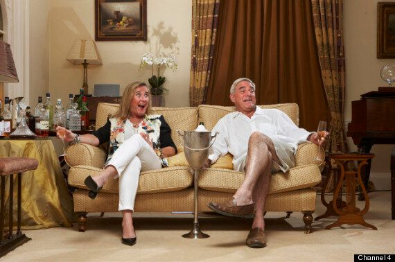 'Gogglebox' Couple Steph and Dom Parker Reveal Just How Drunk They Were On The