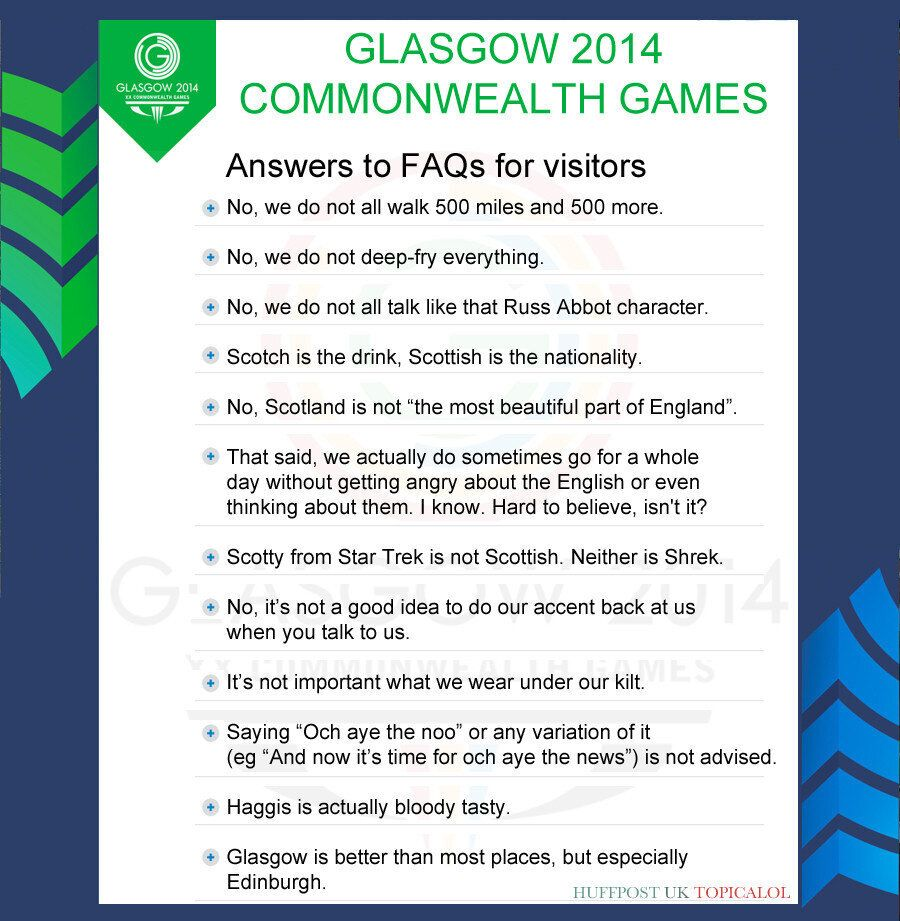 Glasgow 2014 Commonwealth Games: Answers To Frequently Asked