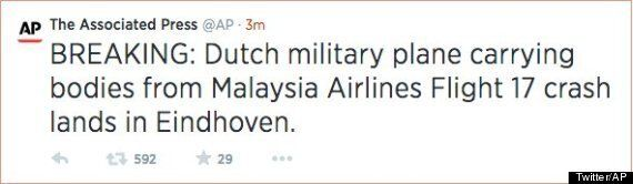 Associated Press Sparks Second MH17 Crash Fears With Awfully Worded