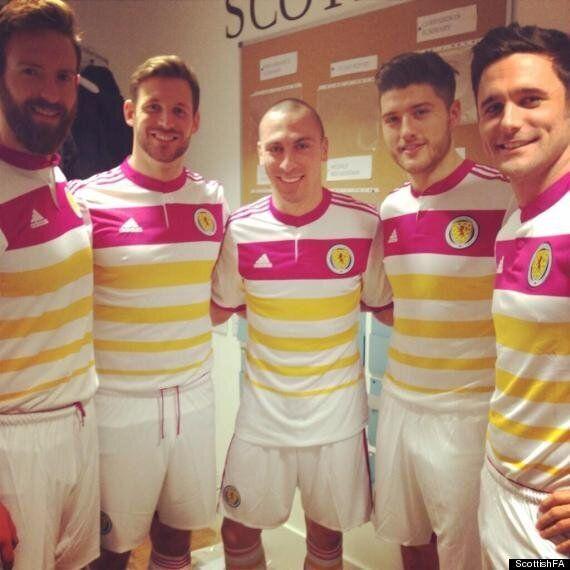Scotland's Awful Adidas Away Kit Revealed