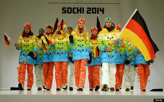 Germany's Winter Olympic Uniforms Look Like Political Protest Against Russia's Anti-Gay Law