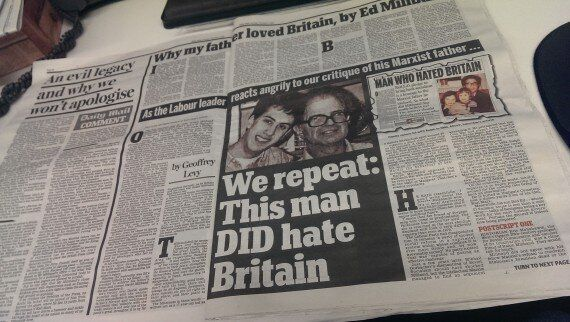 Daily Mail Ralph Miliband Coverage Sparks Hundreds Of Complaints To