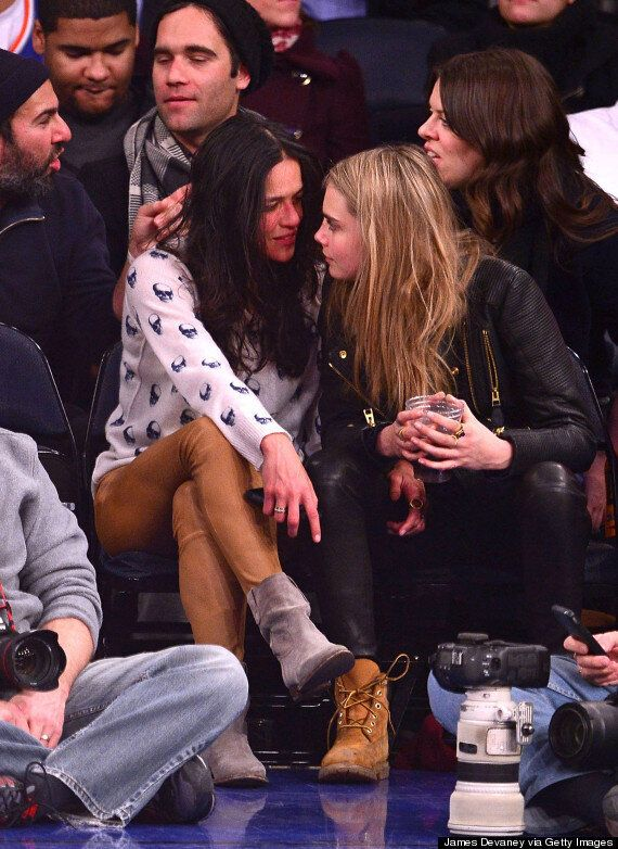 Cara Delevingne's Girlfriend Michelle Rodriguez Posts Nude Yoga Snap On Instagram