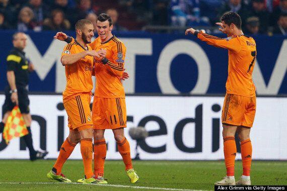 Schalke 1-6 Real Madrid: Cristiano And Gareth Bale Net Braces