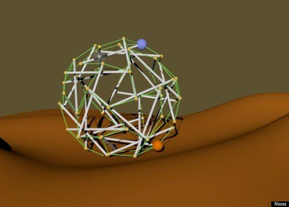Nasa's Super Ball Bot Looks Like A Rotary Washing Line But Is Actually Very
