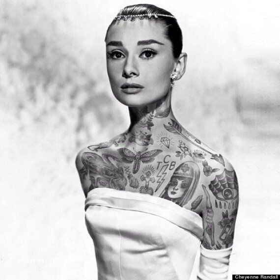 #shoppedtattoos: If Celebrities Were Covered In Awesome Tattoos