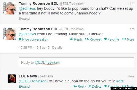 Tommy Robinson Accused Of 'Stalkerish And Bizarre' Behaviour By Anti-EDL Campaign