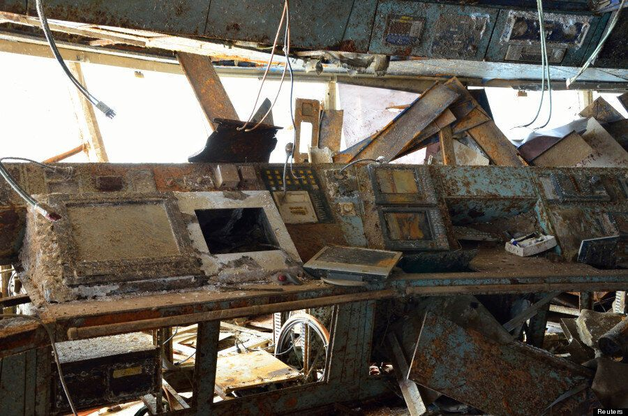 Costa Concordia: Haunting Images From Inside The Doomed Ocean Liner
