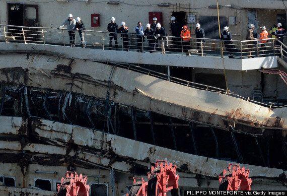 Costa Concordia Captain Francesco Schettino Returns To Shipwreck