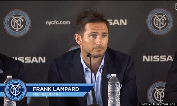 Frank Lampard Joins MLS Club New York