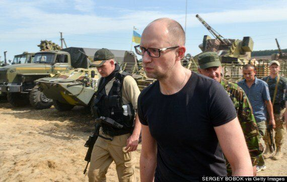Ukraine's Prime Minister Arseniy Yatsenyuk Resigns, Leaving Parliament In