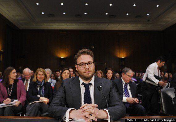 Seth Rogen Gives Emotional Speech To Congress About Alzheimer's Disease But Senators Walk