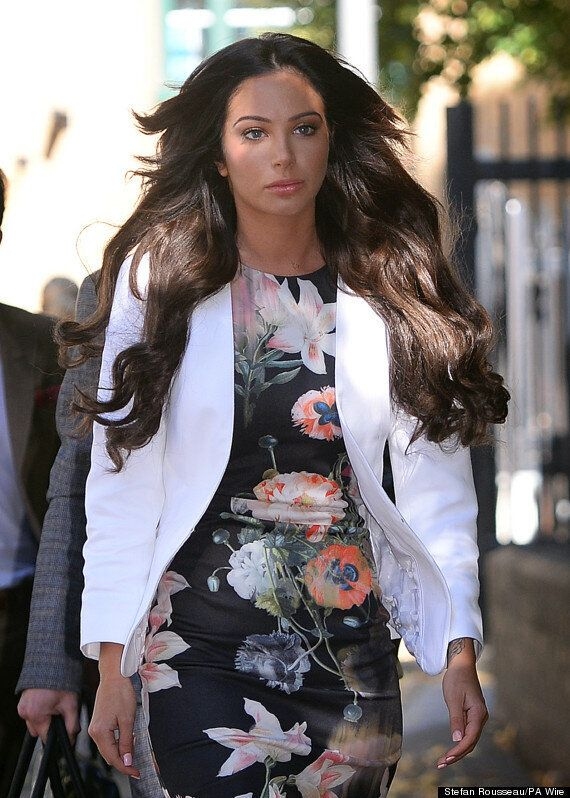 Tulisa Contostavlos 'Back In The Recording Studio' After Drugs Trial